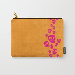 Skulls Fun - pink/orange Carry-All Pouch