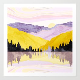 Spring Lake Art Print
