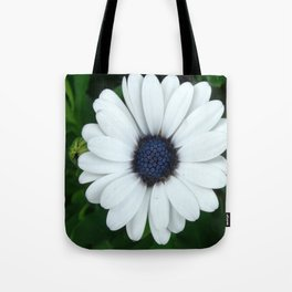 White African Daisy Tapestry Print Tote Bag