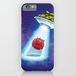 UFO Spaghetti Dreams iPhone Case