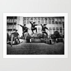 skaterboy Art Print