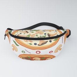 Pizza Lover Pattern Fanny Pack