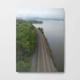Train Tracks ... Metal Print