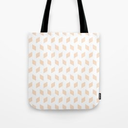 rhombus bomb in linen Tote Bag