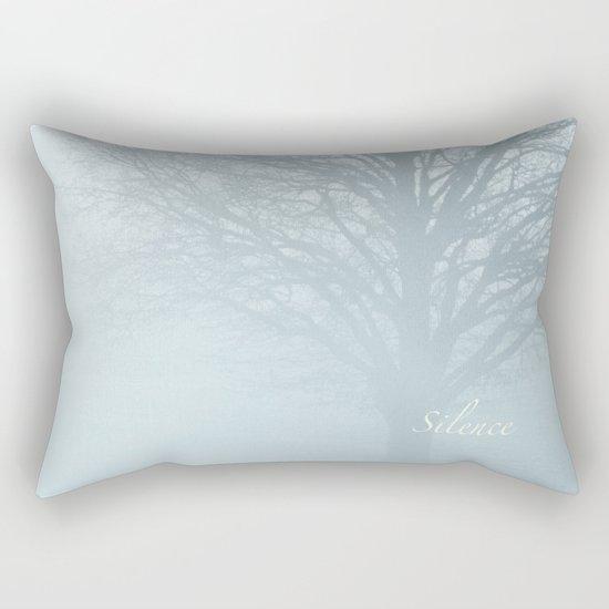 Tree / Winter Silence Rectangular Pillow