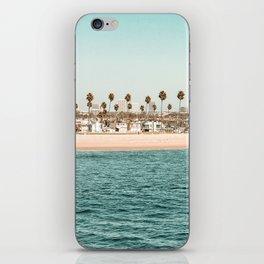 Vintage Newport Beach Print {1 of 4} | Photography Ocean Palm Trees Teal Tropical Summer Sky iPhone Skin