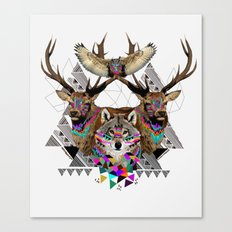▲FOREST FRIENDS▲ Canvas Print