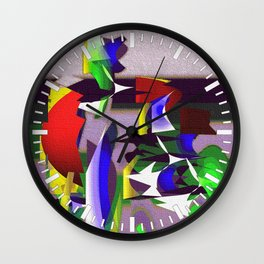 """Madrone Candea """"Robots From The Sea Variation"""" Wall Clock"""