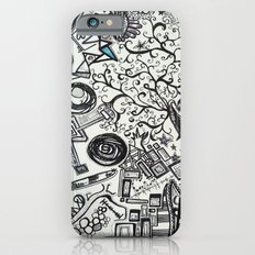 Black/White #2 iPhone 6s Slim Case