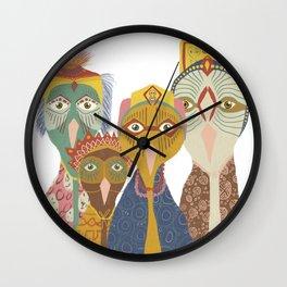Chiefs I Wall Clock