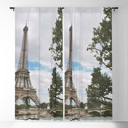 From Paris, With Love Blackout Curtain