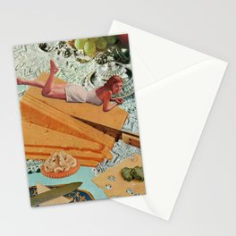 Money Can't Buy You Happiness, But It Can Buy You Cheese Stationery Cards
