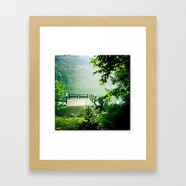 Catskills Lake Framed Art Print