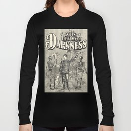 Army of Darkness Anachronism Print Long Sleeve T-shirt