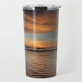 Boracay Sunset reflections Travel Mug