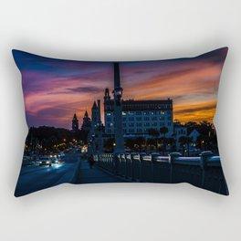 Atomic Augustine Rectangular Pillow