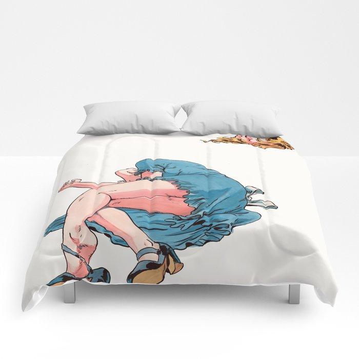 Alice Decapitated Comforters