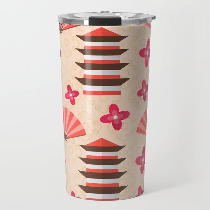 Japenese Pattern Travel Mug