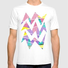 JungleParty White SMALL Mens Fitted Tee