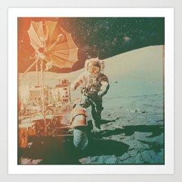 Project Apollo - 11 Art Print