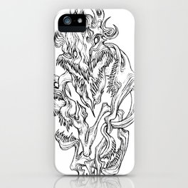 God Of The Wild Eternity iPhone Case