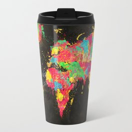 Psichedelic Continents Travel Mug