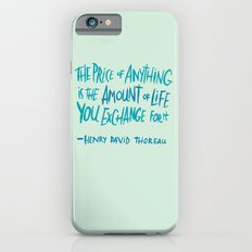 Henry David Thoreau Slim Case iPhone 6s