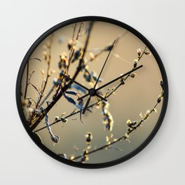 Sunny Autumn Wall Clock
