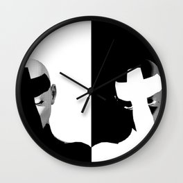 Love and Devotion Wall Clock