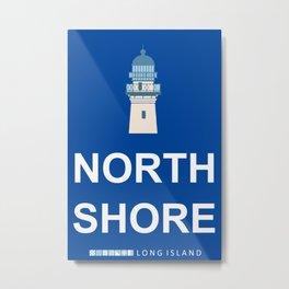 North Shore - Long Island. Metal Print