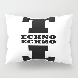 Techno Anagram Pillow Sham