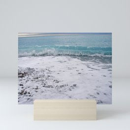 Inside a Wave Mini Art Print