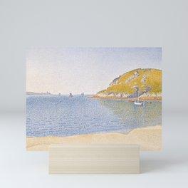 Port of Saint-Cast Mini Art Print