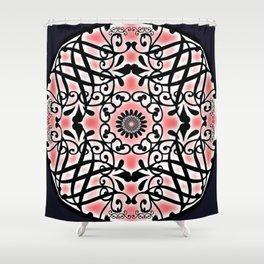 Tudor Rose Shower Curtain