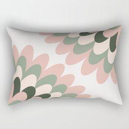 Dahlia at Office Rectangular Pillow