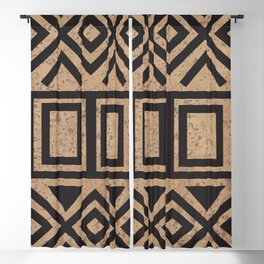 African Tribal Pattern No. 114 Blackout Curtain