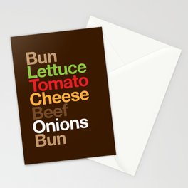 Burgervetica Stationery Cards