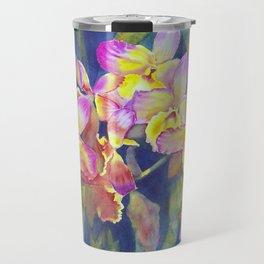 Dendrobium Orchids Travel Mug