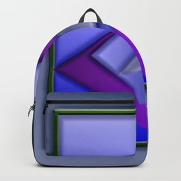 The blue pic plastificated ... Backpack