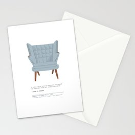 Papa Bear Chair Stationery Cards