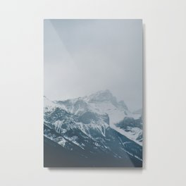 Canmore, Alberta Mountains Metal Print