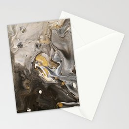 Acrylic pour #1 Stationery Cards