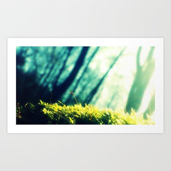 Mossy Knoll Art Print