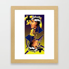 DISHONORED- Queen of Clubs Framed Art Print