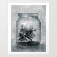 Saving Nature. Art Print