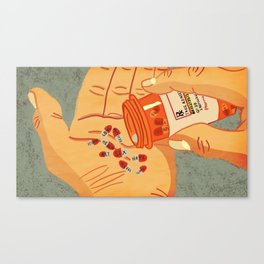 RX for Life Canvas Print