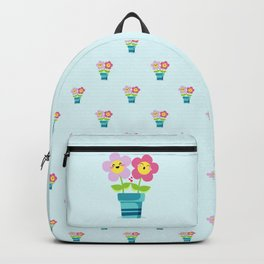Kawaii Spring lovers pattern Backpack