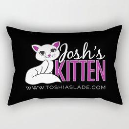 Josh's Kitten [Dark] Rectangular Pillow