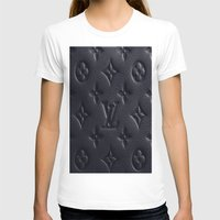 lv T-shirts featuring Black LV by I Love Decor