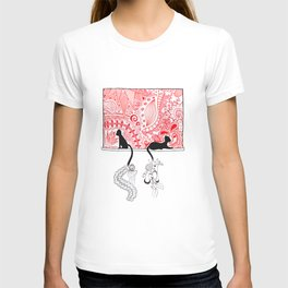 Cats in a Window T-shirt